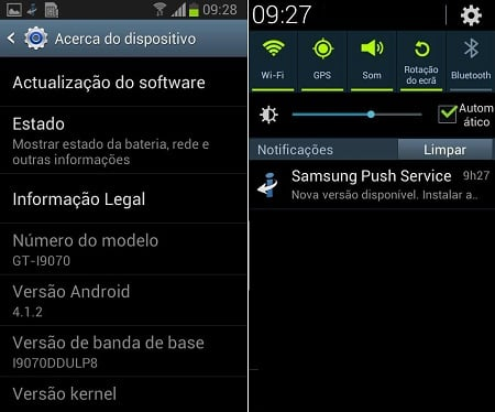 Galaxy S2 Lite aNDROID 4.1.2